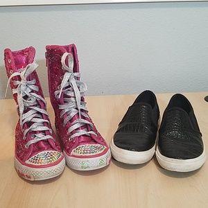 Bundle Skechers Twinkle Toes 12 Ugg loafers 1